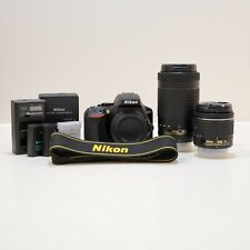 Nikon D3500 24.2 MP Digital Camera - Black (Kit 18-55mm & 70-300mm)