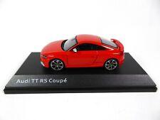 Audi TT RS Coupé Catalunya Red 1/43 iScale Dealer Pack Voiture Model Car 10431
