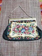 Vintage handbag tapestry USSR 1950 excellent condition