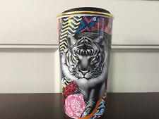 Starbucks 2018 Sumatra Tiger DWT Ceramic Travel Mug Tumbler by Tristan Eaton New
