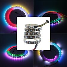 3.2FT 60LED/M 5V WS2813 Dual data New WS2812B 5050 RGB LED Strip SMD IP20 Black