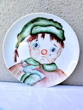 Sad Clown Plate - Great Shape - Collectors Item Marked Theiss