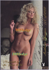 "1996 PLAYMATE AUTHENTIC JUMBO AUTO: KATHY SHOWER #/2750 AUTOGRAPH ""KNIGHT RIDER"""