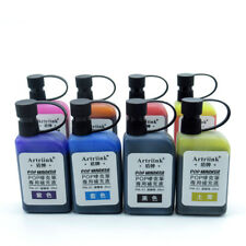 8colors/set Refill Alcohol Ink For Refilling POP Poster Advertising Marker Pen