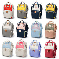 Waterproof Large Mummy Baby Diaper Nappy Backpack Mom Changing Travel Bag Useful