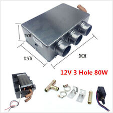 12V 3 Hole 80W Portable Auto Car SUV Heating Cooling Heater Defroster Demister