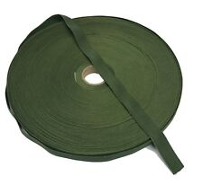 """19mm / 0.75"""" Olive Green Military Specification Elastic ( Military Webbing MTP"""