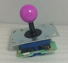 Japan Seimitsu Joystick Violet Top Ball 5 Pin connector Arcade Parts LS-32-02-10