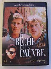 DVD LE RICHE ET LE PAUVRE - Peter STRAUSS / Nick NOLTE - N°5 - 2 EPISODES