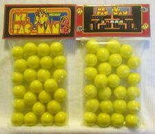 2 Bags Of Pac Man Video Game Promo Marbles