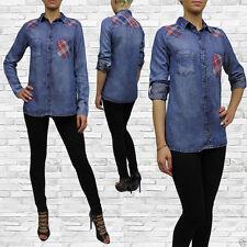 Damen-Shirts mit klassischem Kragen für die Freizeit