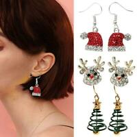 1 Pair Christmas Earings Dangle Drop Earring Jewelry Xmas Christmas Gift