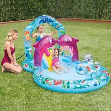 INTEX Delfino Playcentre Lounge all'esterno piscina bambini giocano (3+ anni)