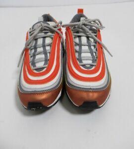 Nake Air Max 97 SE Kids Metallic Red Bronze Orange CT9637-900 Size 6.5Y US