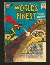 World's Finest Comics # 90 - 3rd Batwoman Poor Cond.