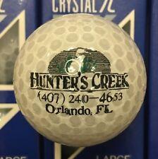 Hunter's Creek Golf Course Orlando Florida 6 New Golf Balls Crystal 314 In Box