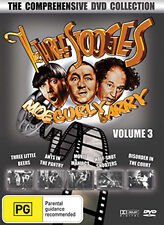 THE THREE STOOGES VOLUME 3 - THE COMPREHENSIVE COLLECTION 5 MOVIE DVD