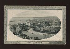 Norway Parti af TRONDHJEM General view c1910/20s? PPC