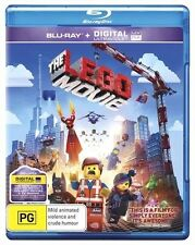 THE LEGO MOVIE****BLU-RAY****REGION B****NEW & SEALED