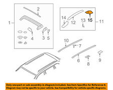PORSCHE OEM Cayenne Roof Rack Rail Luggage Carrier-Rear Support 95555937800