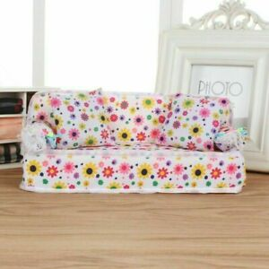 Living Room Sofa Combo Set for Barbie Doll Living Room House Furniture