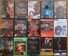 PC Spiele Sammlung Games Klassiker Gilde Gothic Half-Life Command & Conquer usw