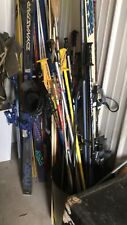 New listing Vintage Snow Skis Lot Of Five W/ Poles And Boots