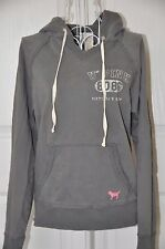Victoria Secret U of PINK PHI BETA PINK Hoodie Sweatshirt gray grey XS
