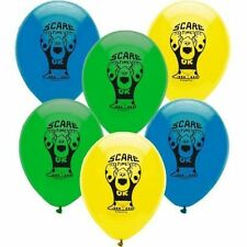 Monsters 6 Latex Balloons Helium Party Supplies Decorations Boys Birthday Disney