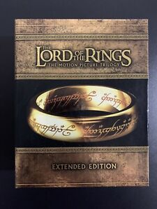 The Lord Of The Rings 15 Disc Extended Edition Blu-Ray DVD Movie Trilogy Box Set