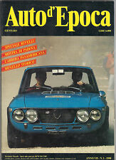 1/1990 AUTO D'EPOCA - SPECIALE REVELLI MOSTRA DI PADOVA CARRERA PANAMERICANA