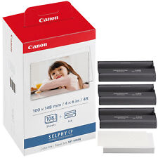 Genuine CANON KP-108IN Tinten/Foto Printer Papiersatz /SELPHY CP1200 910 900 820