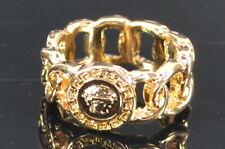 ASOS DESIGN Ring mit Münze im Kettenoptik gold Gr. M (53) Neu; K66 460