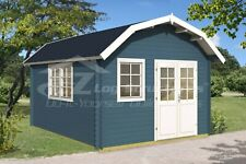 Log Cabin Tiny Home Shed 160 Sq Ft 145 X 175 X 1 58 Inch Prefabricated Kit