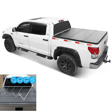 For 14-18 Chevy Silverado GMC Sierra JDMSPEED 5.8 FT Hard Folding Tonneau Cover