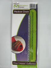 Marvelous Molds Fashion Accessories -Medium Chain- fondant cake clay art supply