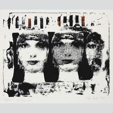 """Inge Gulde. """"Schaufenster"""". Pop-Art, Seriegrafie, 1993."""