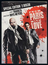 FROM PARIS WITH LOVE - special edition digipack 2 dischi DVD 283