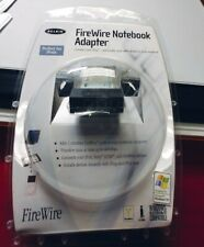 Belkin FireWire Notebook Adapter Pcmcia F5U512-Apl PowerBook, Windows, Mac, iPod