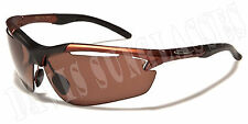 Men's  X Loop Sunglasses XL32906 UV400 Davis E5 cycling running sunnies brown