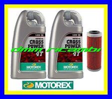 Kit Tagliando KTM SX ECX 505 08>09 + Olio MOTOREX Cross Power 10W/50 2008 2009