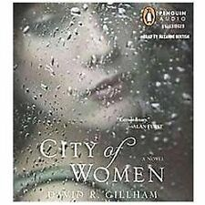 David Gillham CITY OF WOMEN Unabridged CD *NEW* *FAST Ship* $39.95 Value