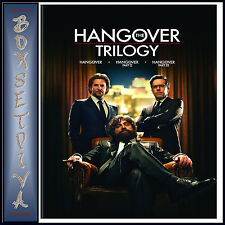 THE HANGOVER TRILOGY - Bradley Cooper &  Ed Helms  **BRAND NEW DVD **
