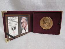 Cal Ripken Jr Baltimore Orioles Highland Mint Bronze Magnum L/E Coin 1556/3000