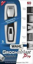 Wahl GroomsMan Pro Rechargeable Shaver & Trimmer 14 Pieces. 9855-408 Brand New!