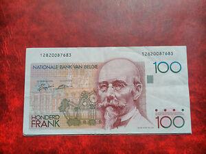 Banknotes 100 Francs Belgium 78/81, Belgique