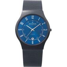 Relojes de pulsera Date de acero inoxidable para hombre