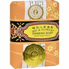 Bee & Flower Ginsing Soap Bar 75gm Bath & Body Personal Health Care new sealed