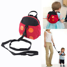 Bébé enfant toddler enfant sécurité coccinelle harnais sac à dos bride sangle walker