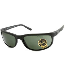 05d66ed513 Ray-Ban RB2027 W1847 Predator 2 Matte Black Green Sports Wrap-Around  Sunglasses